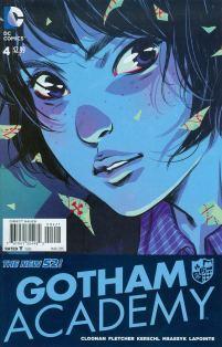 Gotham Academy #4 Cover B Incentive Karl Kerschl Variant