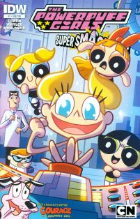 Powerpuff Girls Super Smash-Up #1 Cover B Variant Paulina Ganucheau Subscription