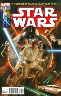 Star Wars Vol 4 #1 Cover R Incentive Alex Ross Color Variant