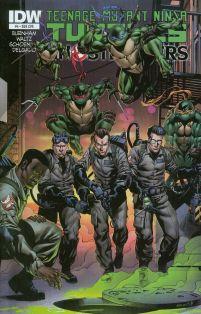 Teenage Mutant Ninja Turtles Ghostbusters #4 Cover B Variant Robert Atkins Subscription