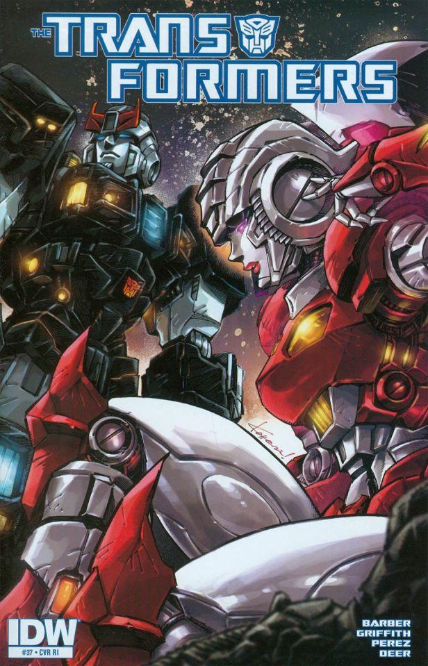Transformers Vol 3 #37 Cover C Incentive Kotteri Variant