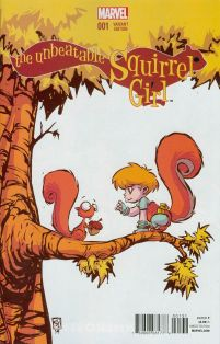 Unbeatable Squirrel Girl #1 Cover B Variant Skottie Young Baby