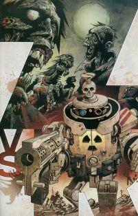 Zombies vs Robots Vol 2 #1 Cover C Incentive Gabriel Rodriguez Variant
