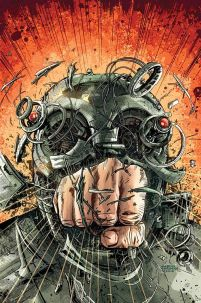 Magnus Robot Fighter Vol 4 #4 Cover G High-End Gabriel Hardman Virgin Art Ultra-Limited Variant Cover (ONLY 25 COPIES IN EXISTENCE!)