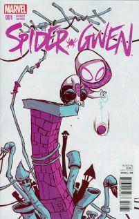 Spider-Gwen #1 Variant Skottie Young Baby