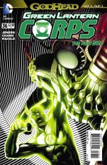 Green Lantern Corps Vol 3 #36 Bernard Chang (Godhead Act 2 Part 2)