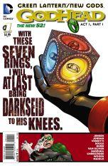 Green Lantern New Gods Godhead #1 Francis Portela (Godhead Act 1 Part 1)
