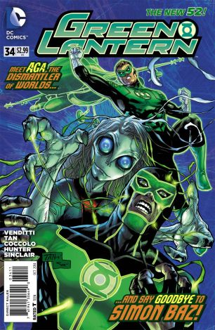 Green Lantern Vol 5 #34 Billy Tan