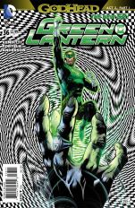 Green Lantern Vol 5 #36 Francis Portela (Godhead Act 2 Part 1)