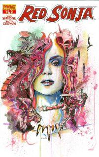 Red Sonja Vol 5 #14 Matt Brooks Contest Winner