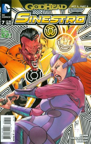 Sinestro #7 Guillem March (Godhead Act 2 Part 5)