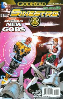 Sinestro #8 Guillem March (Godhead Act 3 Part 5)