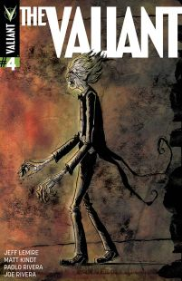 The Valiant #4 Incentive Jeff Lemire & Matt Kindt Interlocking Variant