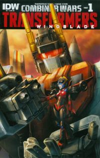 Transformers Windblade Combiner Wars #1 Incentive Sara Pitre-Durocher Variant