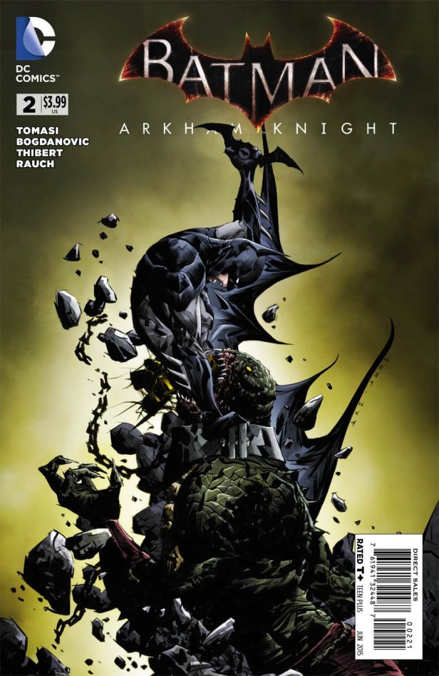 Batman Arkham Knight #2 Incentive Jae Lee Variant