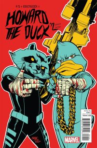 Howard The Duck Vol 4 #2 Incentive Mahmud Asrar Run The Jewels Variant