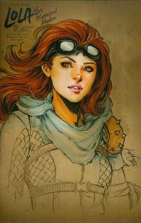 Lola Xoxo Wasteland Madam #1 Incentive Siya Oum Sketch