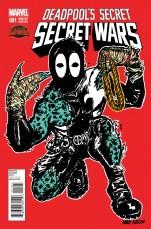 Deadpools Secret Secret Wars #1 Variant Nick Ganzin Album Artist