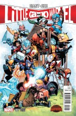 Giant-Size Little Marvel AvX #1 Incentive Humberto Ramos Variant