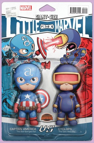 Giant-Size Little Marvel AvX #1 Variant John Tyler Christopher Action Figure