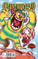 Weirdworld #1 Variant Skottie Young Baby