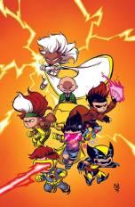 X-Men 92 #1 Variant Skottie Young Baby