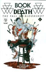 Book Of Death Fall Of Bloodshot #1 Incentive Tom Fowler Variant
