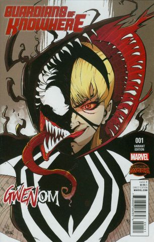 Guardians Of Knowhere #1 Variant Rob Guillory Gwenom