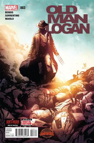 Old Man Logan #3 Regular Andrea Sorrentino