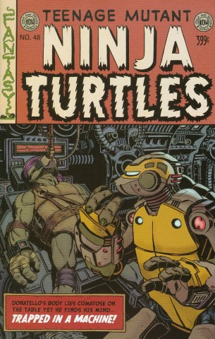 Teenage Mutant Ninja Turtles Vol 5 #48 Variant Ryan Browne EC Comics Subscription
