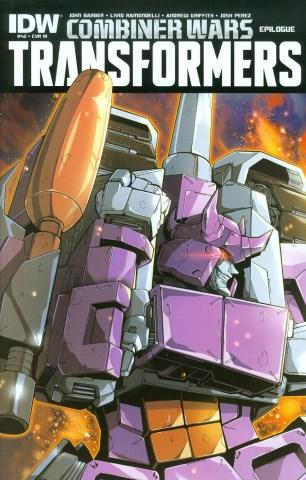 Transformers Vol 3 #42 Incentive Naoto Tsushima Variant Cover (Combiner Wars Epilogue)