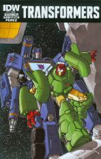 Transformers Vol 3 #43 Regular Andrew Griffith