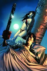 Vampirella Army Of Darkness #1 Rare Jae Lee Virgin