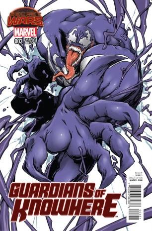 Guardians Of Knowhere #3 Variant Manga