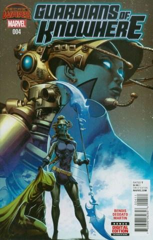 Guardians Of Knowhere #4 Regular Mike Deodato Jr. (Secret Wars Warzones Tie-In)