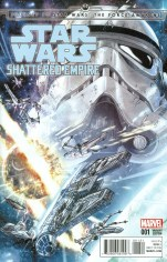 Journey To Star Wars Force Awakens Shattered Empire #1 Incentive Marco Checchetto Variant