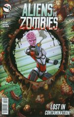 Aliens vs Zombies #3 Jason Metcalf