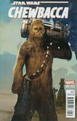 Chewbacca #1 Incentive Ariel Olivetti Variant