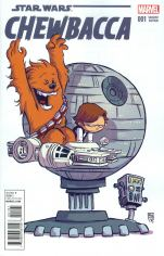 Chewbacca #1 Variant Skottie Young Baby