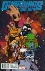 Guardians Of The Galaxy Vol 4 #1 Variant Skottie Young Baby