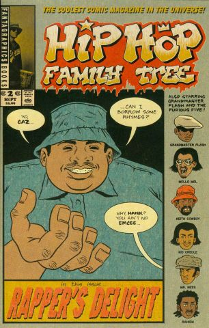 Hip Hop Family Tree #2 Ed Piskor