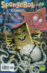 Spongebob Comics #49 Kelley Jones