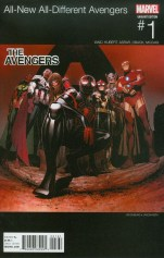 All-New All-Different Avengers #1 Variant Jim Cheung Marvel Hip-Hop