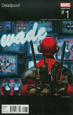 Deadpool Vol 5 #1 Variant Kaare Andrews Marvel Hip-Hop