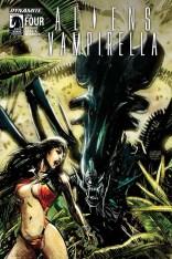 Aliens Vampirella #4 Regular Gabriel Hardman