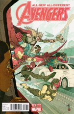 All-New All-Different Avengers #3 Incentive Afu Chan Variant