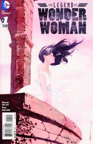 Legend Of Wonder Woman Vol 2 #1 Incentive Dustin Nguyen Variant