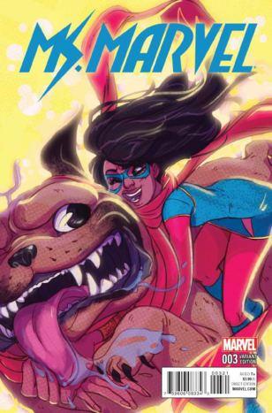 Ms Marvel Vol 4 #3 Incentive Babs Tarr Variant