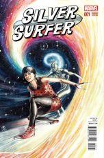 Silver Surfer Vol 7 #1 Incentive Marco Rudy Variant