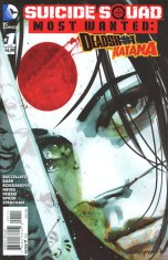 Suicide Squad Most Wanted Deadshot Katana #1 Cary Nord Variant